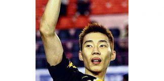 Lee chong wei racket model