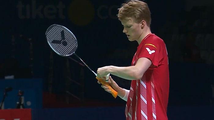 Anders Antonsen Victor Auraspeed 90K racket