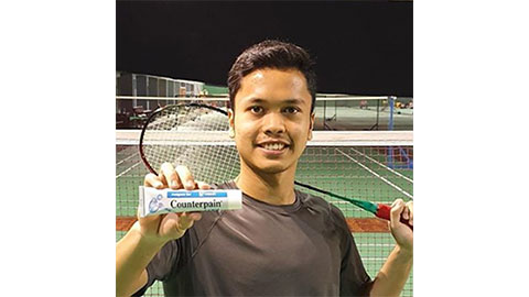 Anthony Sinisuka Ginting's Badminton Racket