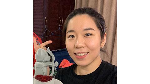 Jia Yi Fan's Badminton Racket