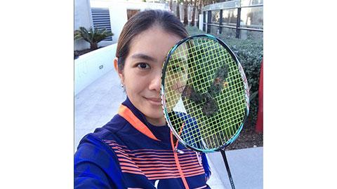 Lai Pei Jing's Badminton Racket
