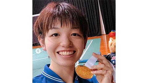 Sayaka Hirota's Badminton Racket