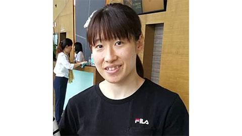 Shiho Tanaka's Badminton Racket