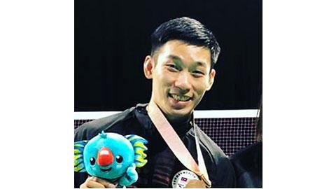 Chan Peng Soon's Badminton Racket