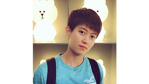 Du Yue's Badminton Racket