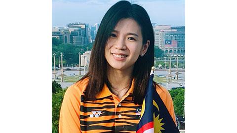 Goh Liu Ying's Badminton Racket