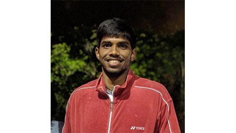 Satwiksairaj Rankireddy's Badminton Racket