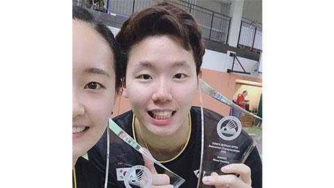 Seo Seung Jae's Badminton Racket