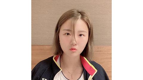 Shin Seung Chan's Badminton Racket